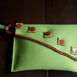 Pochette in neoprene