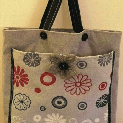 Shopper bag di riciclo